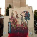 Огромные уличные рисунки превращают скучные здания в произведения искусства