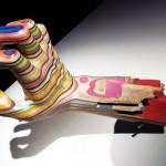 Японский скульптор-самоучка превращает старые скейтборды в творения искусства