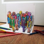 Больше 3D-рисунков карандашом от Рамона Брюина
