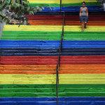 17 удивительных красочных лестниц со всего света
