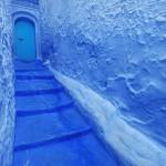 Пестрящий синевой городок в Марокко или «Жизнь в поднебесье»