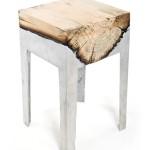 Изумительный союз металла и дерева в мебели от израильского дизайнера