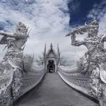 Божественно красивый Белый Храм в Таиланде приковывает к себе взгляд