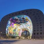 Роттердамский крытый павильон украшен огромной росписью!