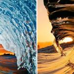Необузданная мощь бушующих волн, снятая изнутри