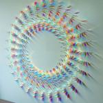 Обуздать силу света? Не вопрос! Поразительные инсталляции из стекла и света от Крис Вуд